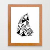 Ijsberg Framed Art Print