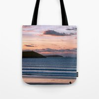 Polzeath Sunset Tote Bag