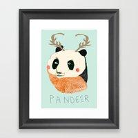 PANDEER :D Framed Art Print