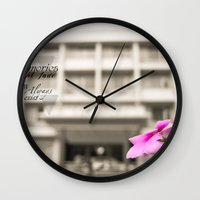 Memories Always Exist Wall Clock