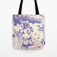 ZombieTeddy Tote Bag