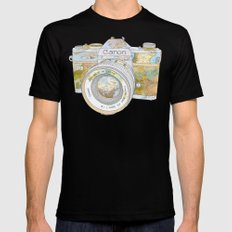 Travel Canon SMALL Black Mens Fitted Tee