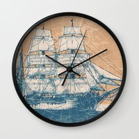 Age of Exploration Wall Clock
