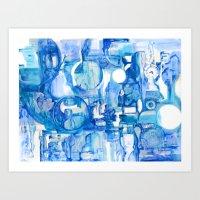 blue III Art Print