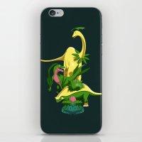 Grassiosaurs iPhone & iPod Skin