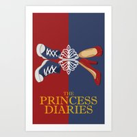 Princess Diaries Art Print