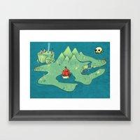 Neverland Framed Art Print