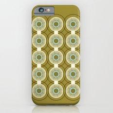 Vintage: Olive Circles Slim Case iPhone 6s