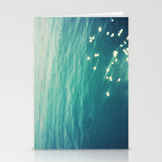 Sparkling Waters Stationery Card