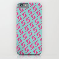 Mint And Pink Guns iPhone 6 Slim Case