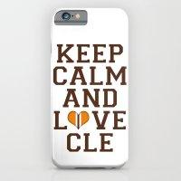 LOVE CLE BROWNS II iPhone 6 Slim Case