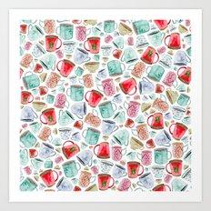 Hot Chocolate, Christmas, Tea, Coffee Art Print