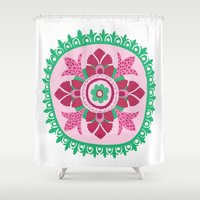 Suzani III Shower Curtain