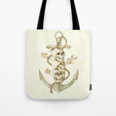 Three Missing Pirates Tote Bag