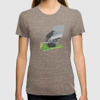 George Womens Fitted Tee Tri-Coffee SMALL