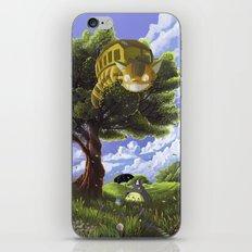 Totoro and Catbus iPhone & iPod Skin