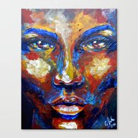 Blow by carographic Canvas Print