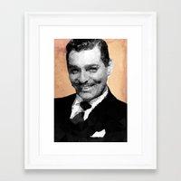 Clark Framed Art Print
