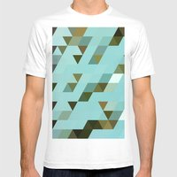Mint Chip Mens Fitted Tee White SMALL