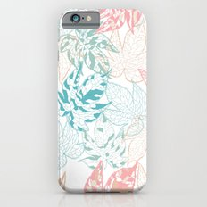 Winter leaves iPhone 6 Slim Case