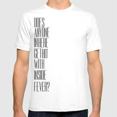 So Bad Sometimes, It's Hard To Move Around White Mens Fitted Tee SMALL