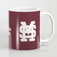 Mississippi Motto (Maroon) Mug