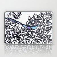 Brace For The Wave Laptop & iPad Skin