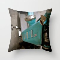 mechanics Throw Pillow