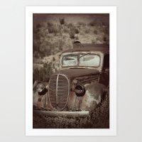 Ford.....abandoned Art Print