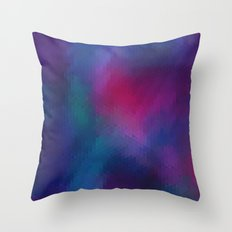 Flourite Throw Pillow