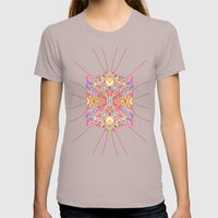 Scales Womens Fitted Tee Cinder SMALL