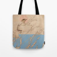 Myshkin Sparrow Tote Bag