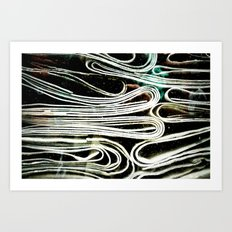 Hard paper Art Print