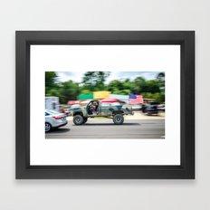 Cruising America Framed Art Print