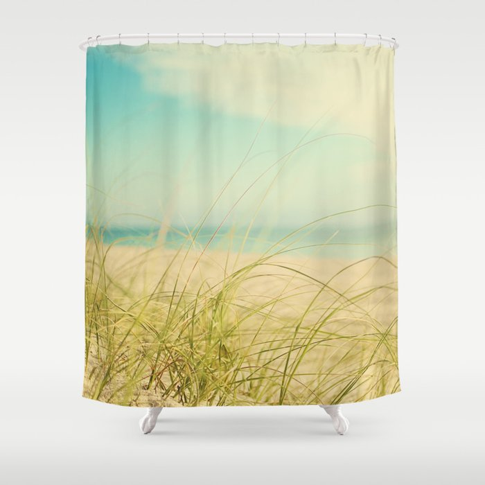 Coastal Shower Curtain by Pure Nature s