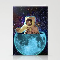 The Man In The Moon Stationery Cards