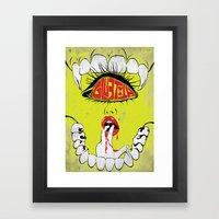 Gluetooth Framed Art Print