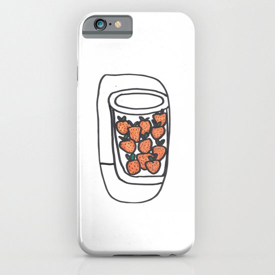 Strawberries iPhone & iPod Case