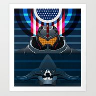 Pacific Rim, Jaws Editio… Art Print