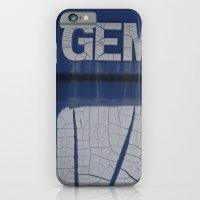 gem blue iPhone 6 Slim Case