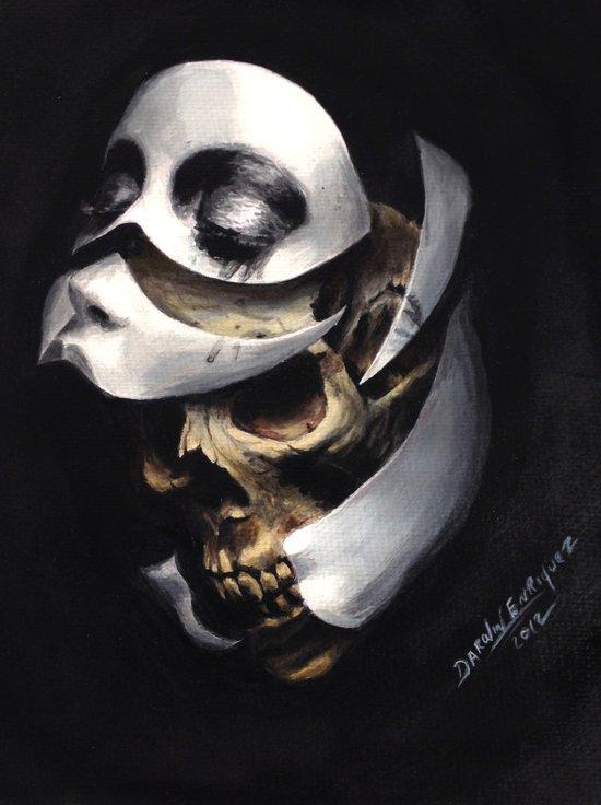 mascara Art Print