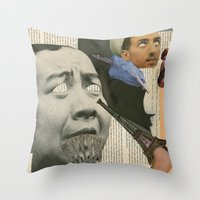 Dada Throw Pillow