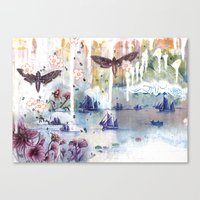 When Words Are Silent Canvas Print
