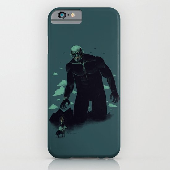 shadow of the titan iPhone & iPod Case