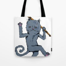 King of the Cats: Tom Tildrum Tote Bag