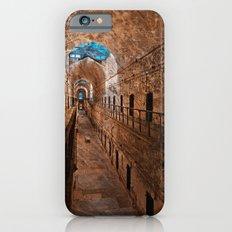 Prison Corridor - Sepia Blues iPhone 6 Slim Case