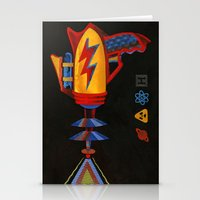 Cosmic Blaster Stationery Cards
