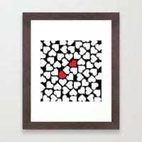 MPENZI ... Love Is In Th… Framed Art Print