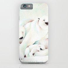 Polar Bears Slim Case iPhone 6s