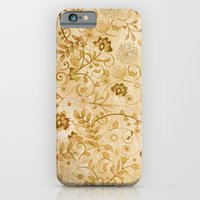 floral pattern iPhone & iPod Cases featuring Floral pattern by nicky2342